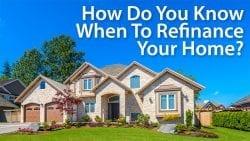 when to refinance