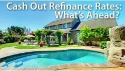 cash out refinance rates