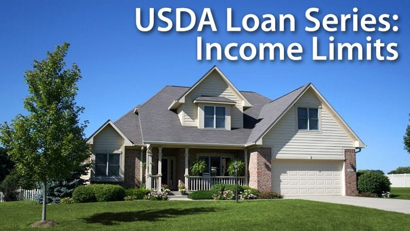 USDA Loan Series - Income Limits