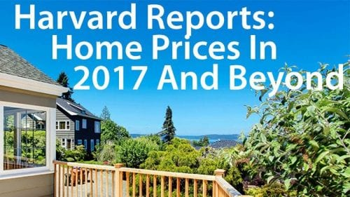 Harvard Research: The Future Of Home Prices In 2021