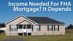 What is the Debt-to-income Ratio for FHA home loans