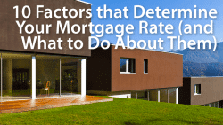 factors that affect mortgage rates