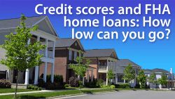 FHA credit scores