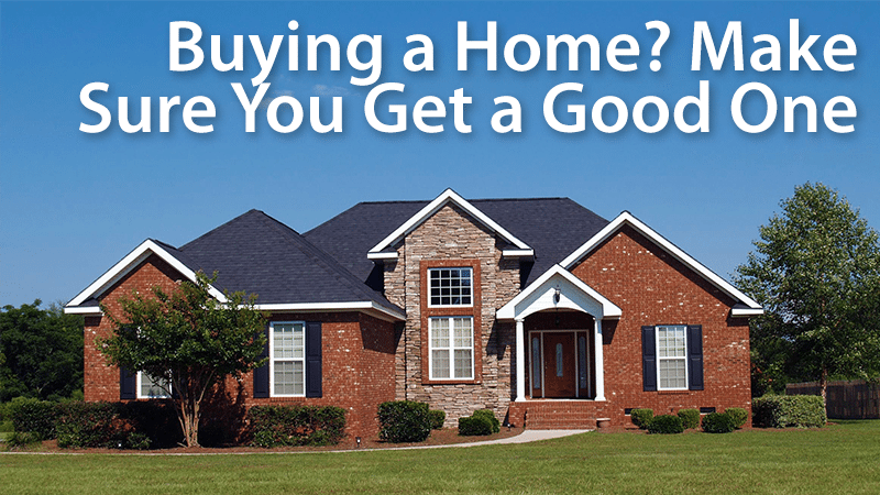 Buying A Home How Do You Know That You 39 Re Getting A Good