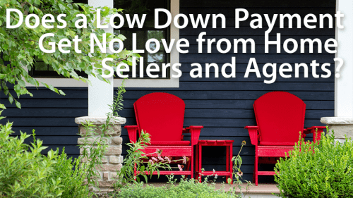 Does a low down payment make your offer weaker?