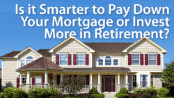 pay down mortgage