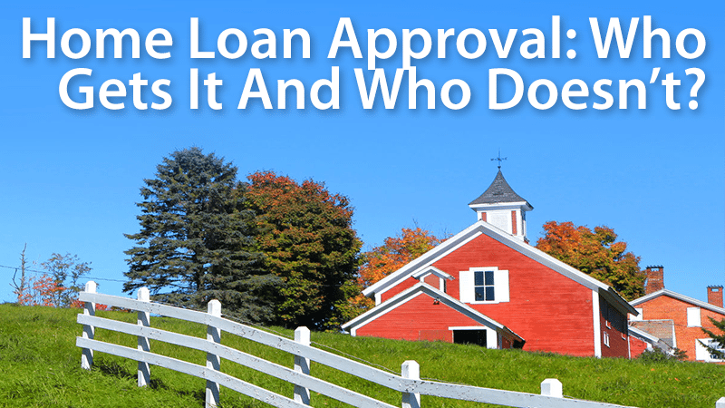 the curious loan approval Getting approved for an fha mortgage - the flexible fha rules used to qualify buyers make it one of the more attractive ways to finance a home.