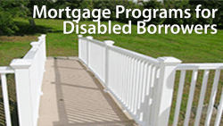 mortgage with a disability