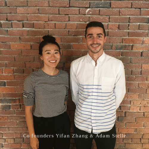 Loftium co founders Yifan Zhang and Adam Stelle