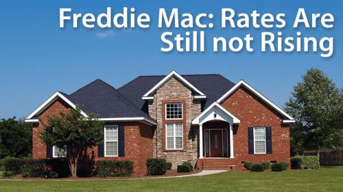 Freddie Mac survey: Mortgage rates edge down yet again