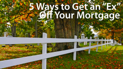 remove an ex from your mortgage