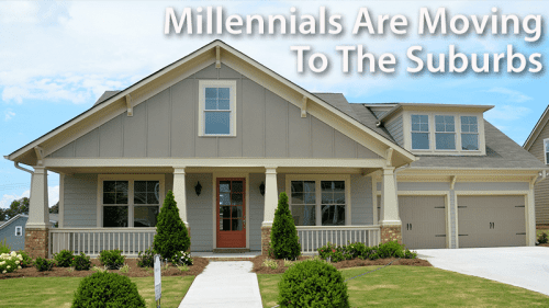 Millennials are moving to the suburbs in bigger cars
