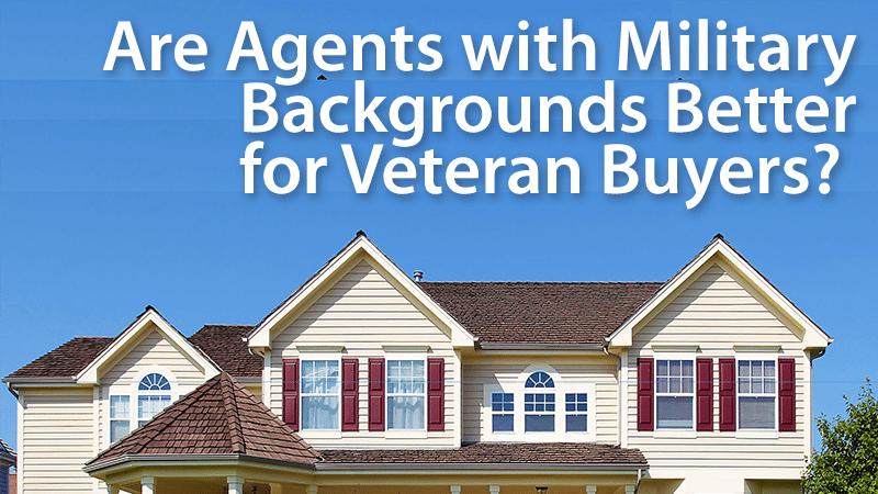 veteran real estate agents