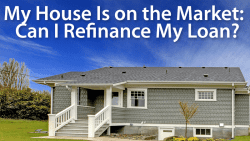 Can I refinance my house while it is listed for sale?