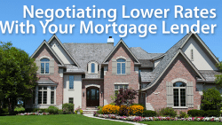 negotiate better mortgage rate