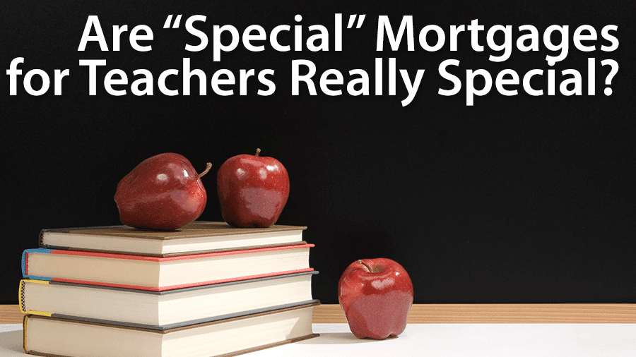 mortgages for teachers
