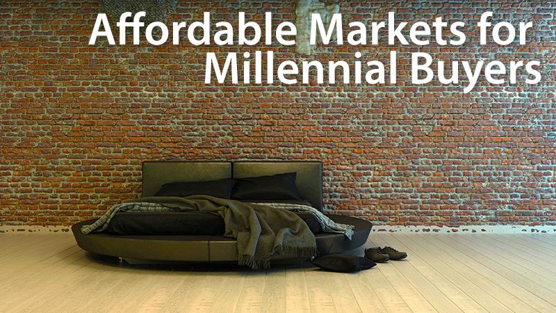affordable markets for millennials