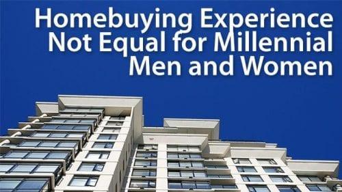The Millennial homebuyer gender gap: male versus female mortgage
