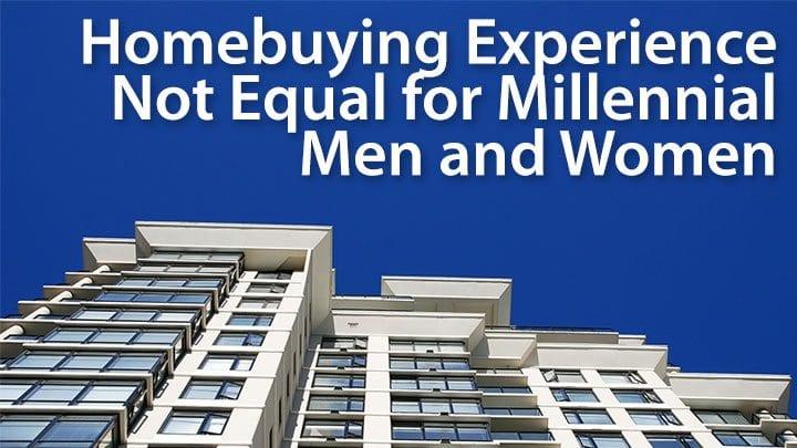 millennial homebuyer men vs women