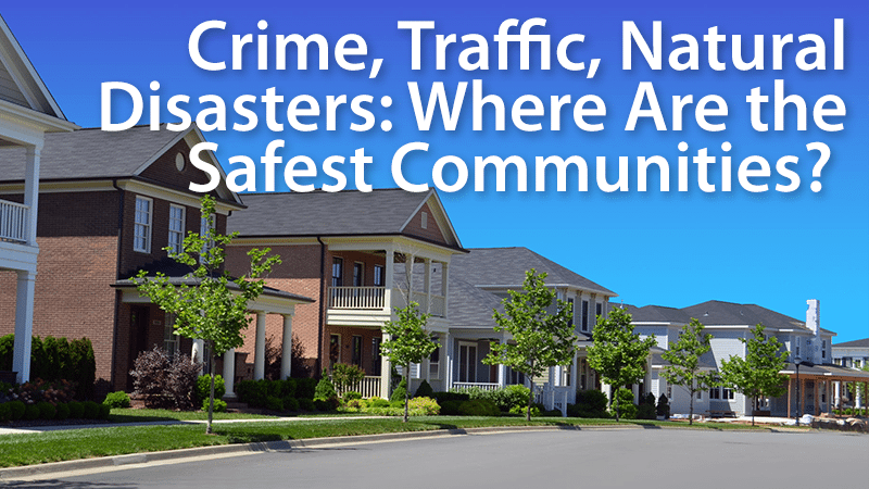 safest cities to buy a home
