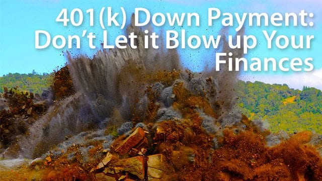 401(k) down payment