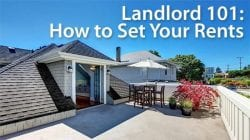 landlord tips how to set your rent