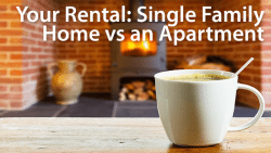 rental house or apartment