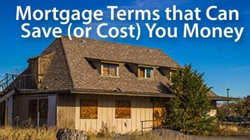Important mortgage terms: conventional, non-conforming and conforming loans