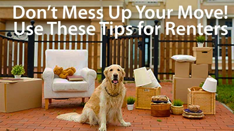 tips for renters how to move