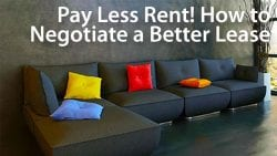 negotiate better lease and pay less rent