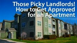 how to get approved for an apartment