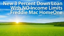 freddie mac 97 percent mortgage