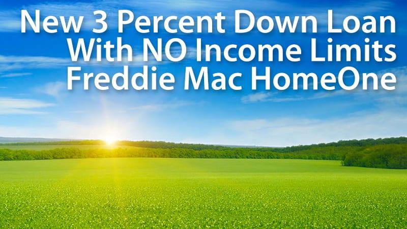 freddie mac 97 percent mortgage