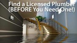 find licensed plumber near