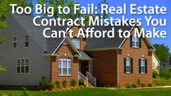 real estate contract, home purchase agreement