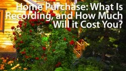 real estate recording fees and transfer taxes