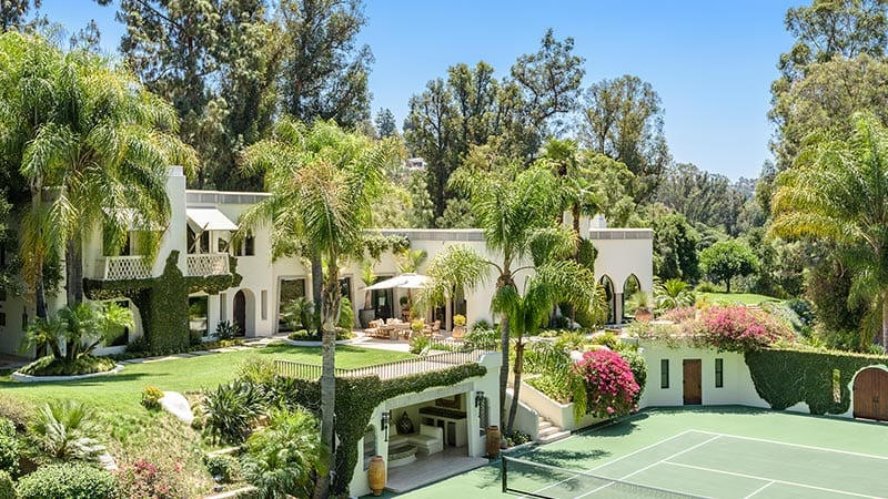 Cher Former Mansion 14 acre Equestrian Estate
