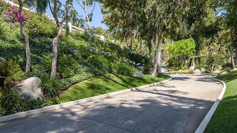 Cher Mansion Driveway
