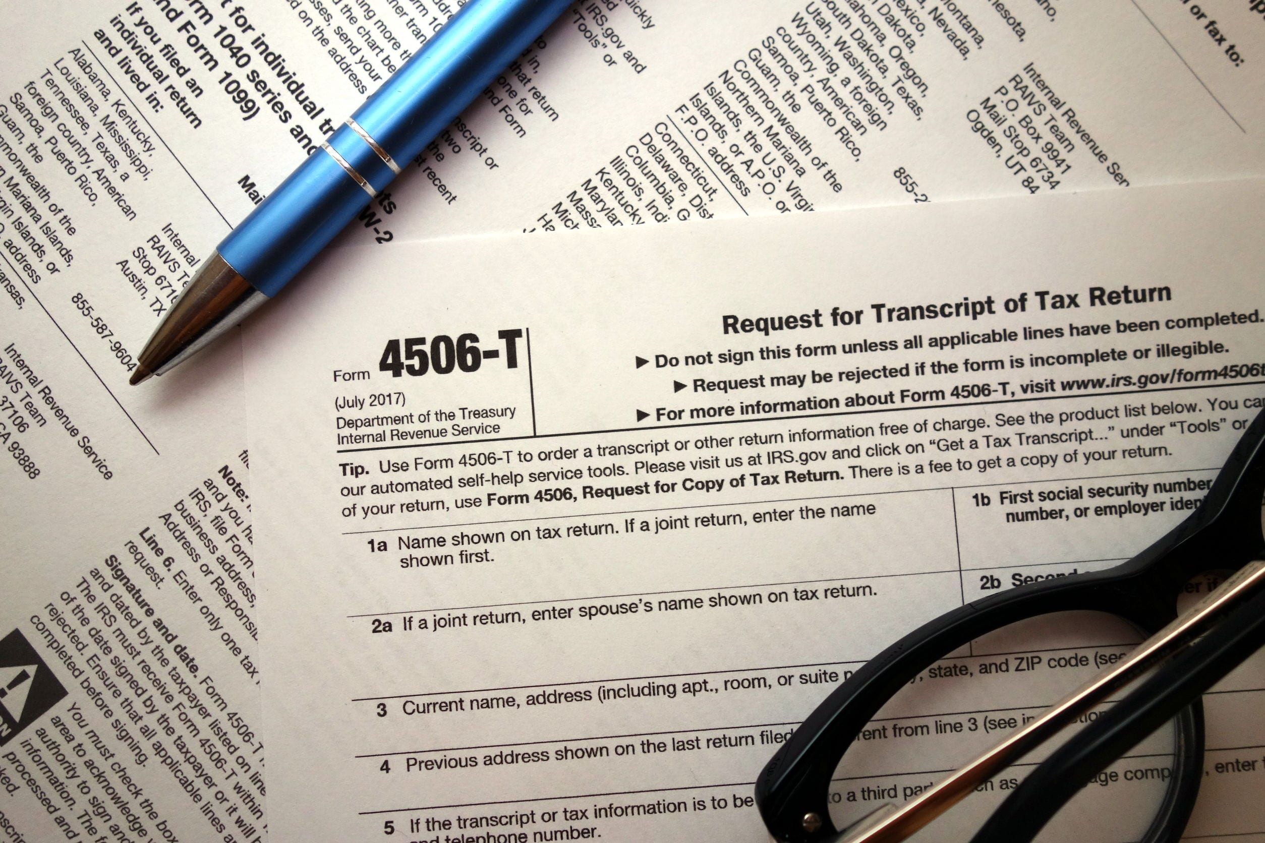 What's a Form 4506-T and why does my lender require it