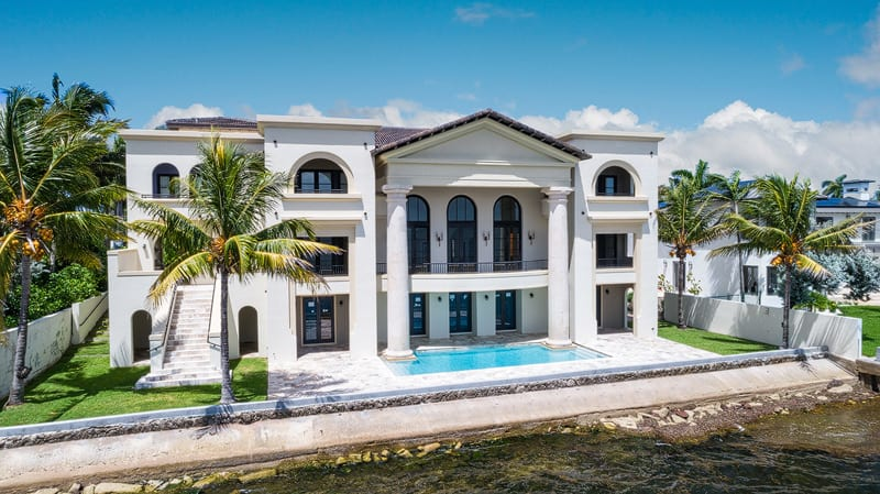Miami Hip Hop Rap Video Mansion For Sale - Front View