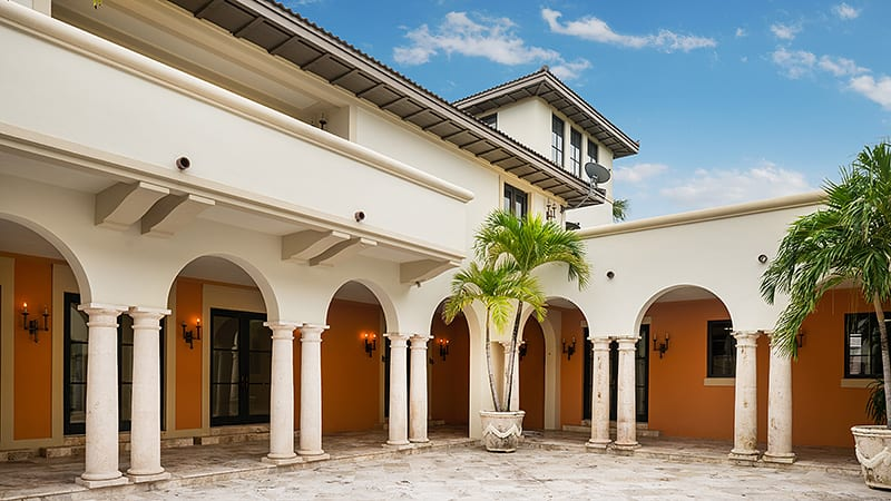Miami Hip Hop Music Video Mansion Arches