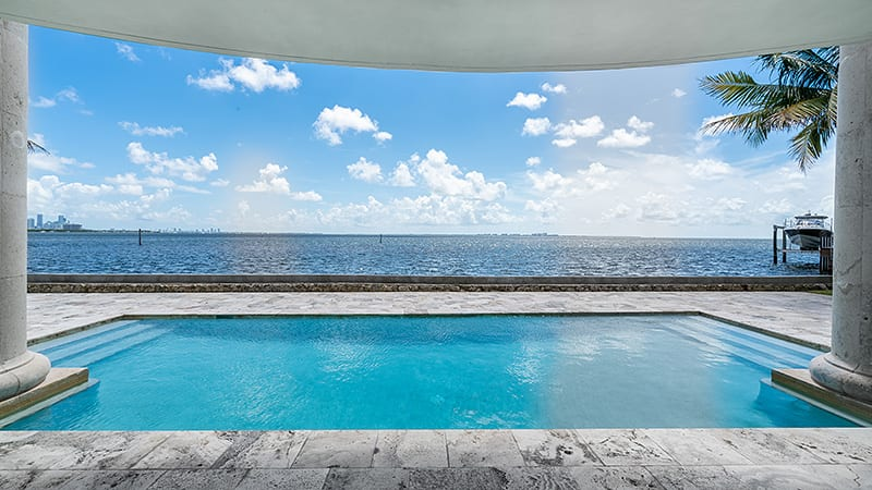 Miami Mansion Pool Location for Music Videos