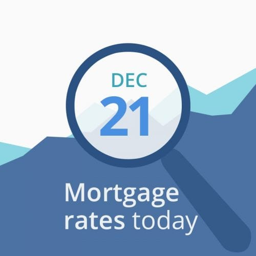 Mortgage rates today December 21 2018
