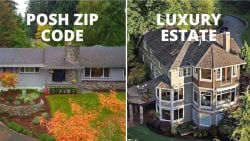 2 million dollar home posh zip code or luxury estate