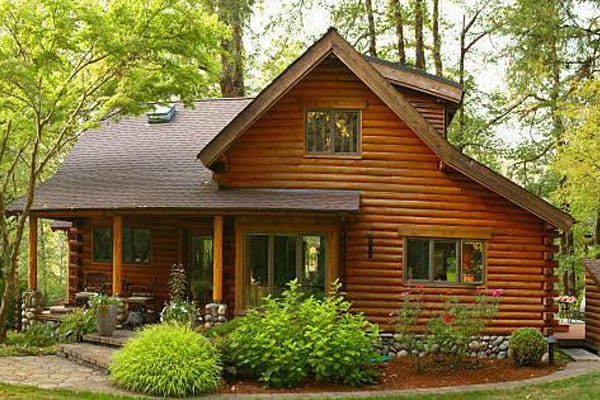 popular types of homes log home