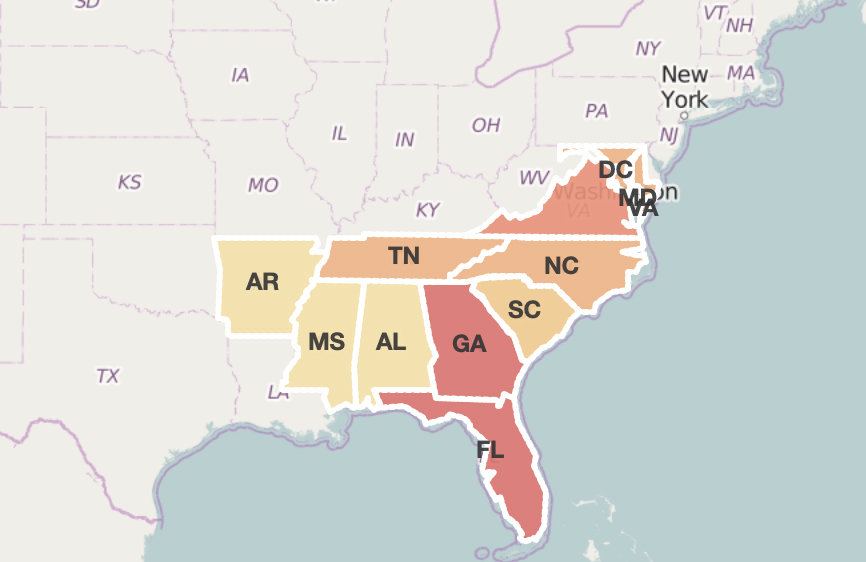 SunTrust Mortgage Review, SunTrust branch locations, from The Mortgage Reports