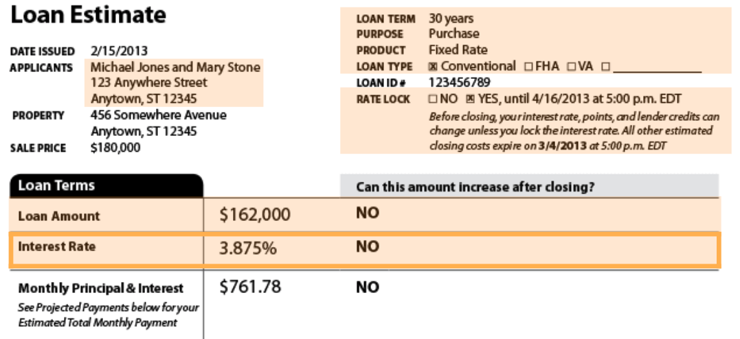How to Read a Refinance Loan Estimate, from The Mortgage Reports