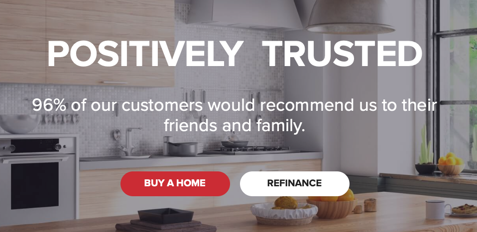 Guaranteed Rate Homepage, Guaranteed Rate Mortgage Review from The Mortgage Reports