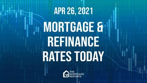 Mortgage and refinance rates today, April 26, 2021