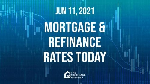 Mortgage and refinance rates today, June 11, 2021